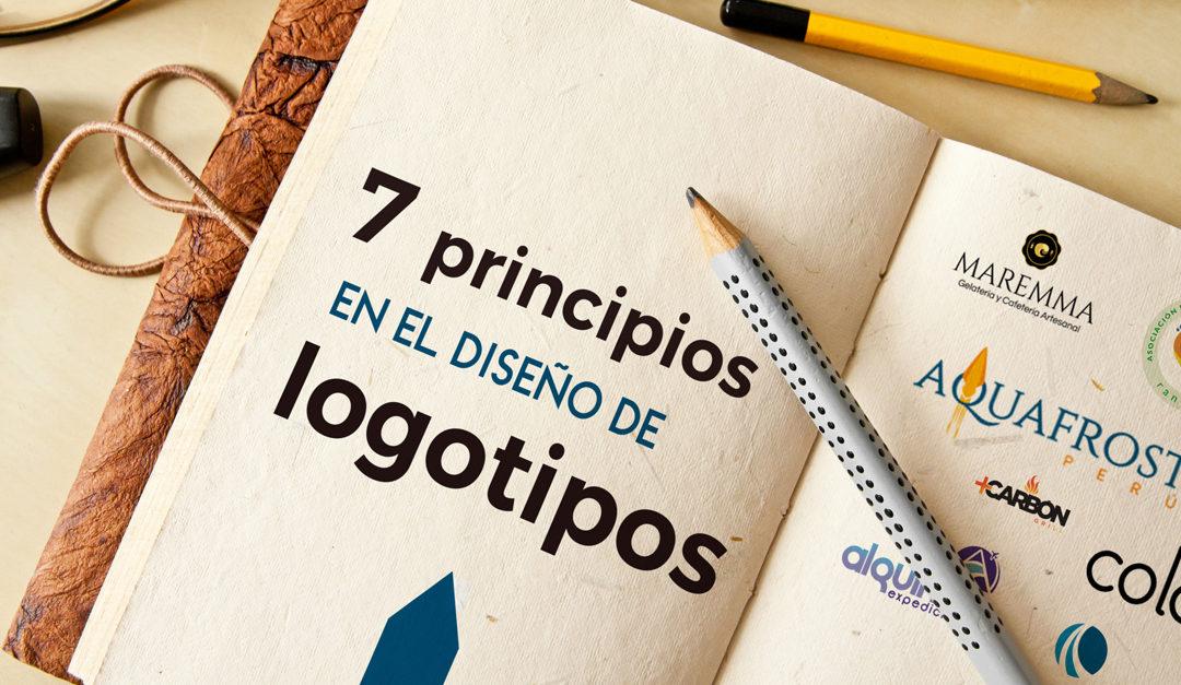 7 Principios que puedes aplicar  (y no aplicar) en el diseño de logotipo