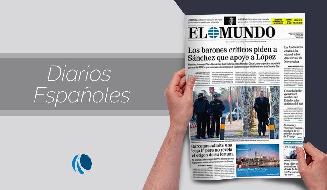 Diarios españoles y el rediseño de sus logotipos
