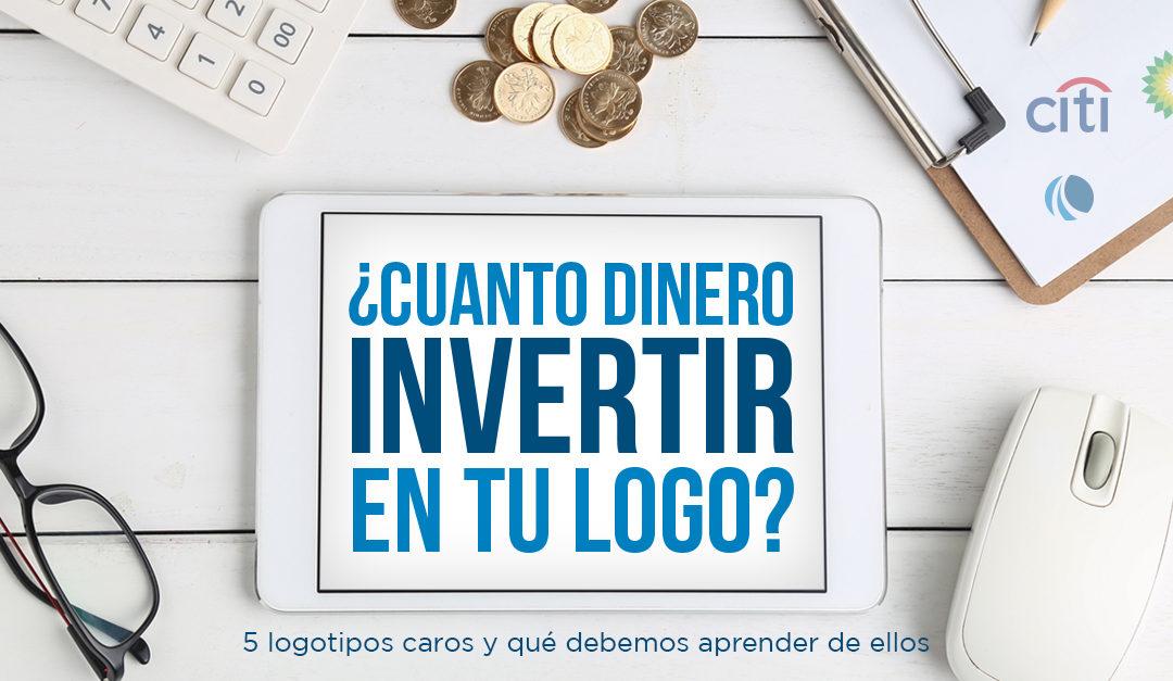 ¿Cuánto dinero invertir en tu logo? 5 logotipos caros, y qué debemos aprender de ellos