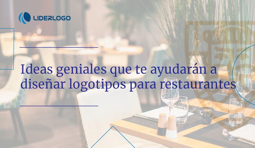 Diseño de logo para restaurante: ideas geniales que te ayudarán a crearlo