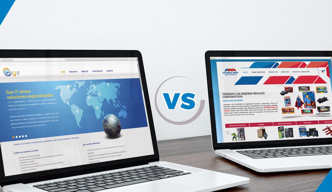 Sitio Web o Tienda Online ¿Qué es mejor para vender más?